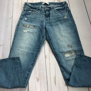 Abercrombie - Distressed Jeans - Size 16